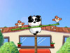 憨熊猫走钢丝