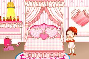 布置可爱小妹卧室