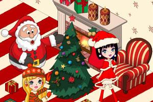 豪华公主卧室圣诞版