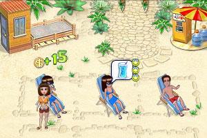 夏威夷海滩游乐场