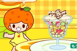 制作水果冰淇淋