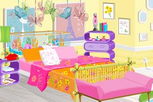 时尚女孩的房间