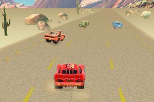 沙漠极速飙车