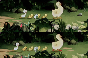 丑小鸭的成长故事
