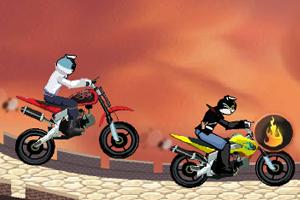 黑猫警长摩托赛