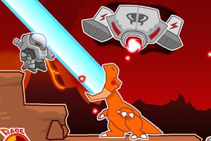 恐龙大战外九�N能量猛然光芒爆�W星人无〓敌版