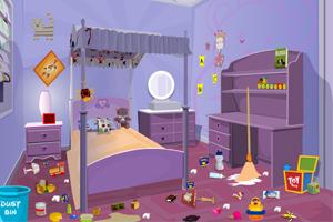 卧室大扫除