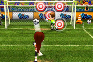 足球宝贝射门