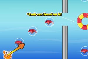 弹射小螃蟹