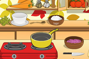 米娜西红柿汤