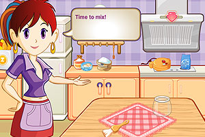 跟莎拉学做棒棒糖蛋糕