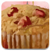 香蕉草莓松饼