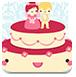 超可愛婚禮蛋糕