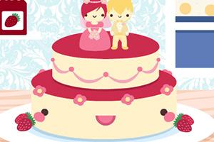 超可爱婚礼蛋糕