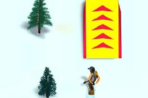 雪山滑雪障碍赛中文版