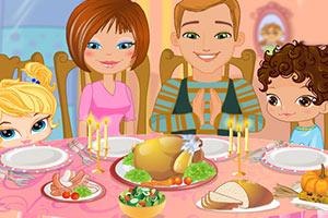 感恩节家庭聚餐