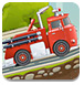 消防车救火
