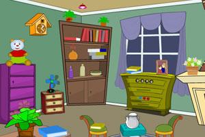 卡通迷你房间逃脱