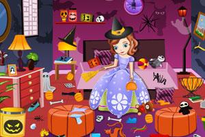 索菲亚打扫房间