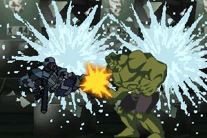 绿巨人对超级英雄无敌版