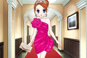 森迪公主的高贵礼服