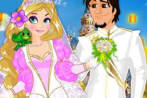 长发公主当新娘