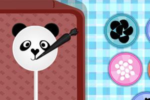熊猫迷你棒棒糖