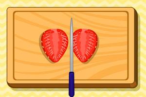 黑加仑草莓派