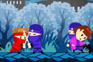 红衣忍者救公主
