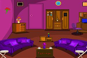 紫色客厅逃脱