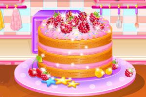柠檬山莓蛋糕
