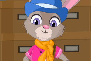 可爱兔子霍普