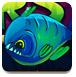 逃离深海食人鱼地带