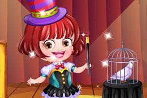 可爱宝贝当魔术师
