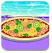 莫纳制作鸡肉披萨