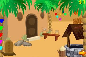 逃离沙漠城堡