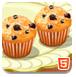 制作甜甜藍莓松餅