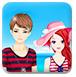 海滩甜蜜情侣