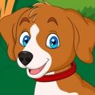 可爱狗崽拼图