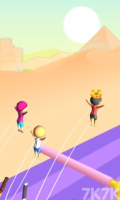《跳跃吧橡胶人》游戏画面4