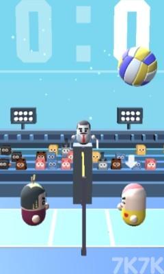 《拇指哥哥排球赛2》游戏画面1