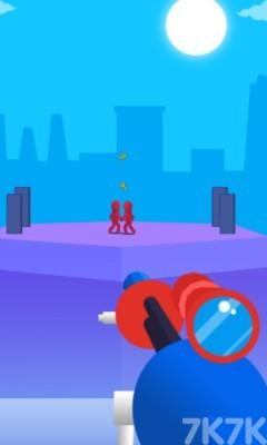 《狙击小红人无敌版》游戏画面4