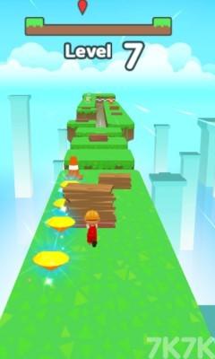 《拾木铺路》游戏画面1
