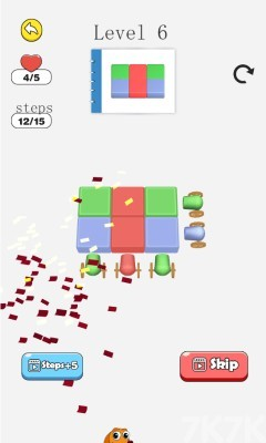 《颜料炮车进击无敌版》游戏画面1