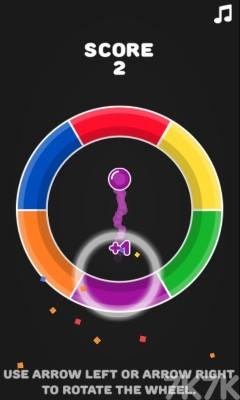 《色彩轮盘》游戏画面1