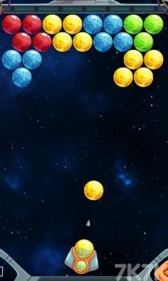 《彩球泡泡龙》游戏画面1