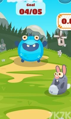 《怪兽吃小球》游戏画面2