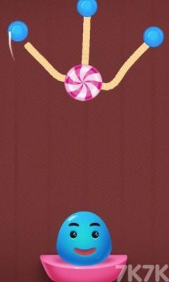 《果冻吃糖果》游戏画面2