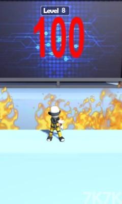 《屋顶滑轨》游戏画面4