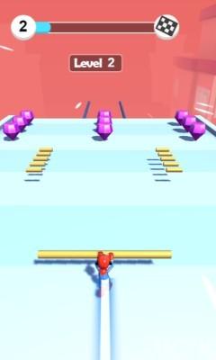 《屋顶滑轨》游戏画面1